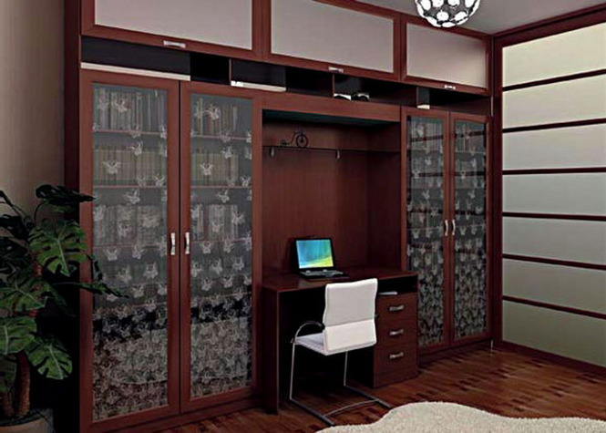 Кухня мебели - шкафы распашные, встроенные, на заказ, фото и.